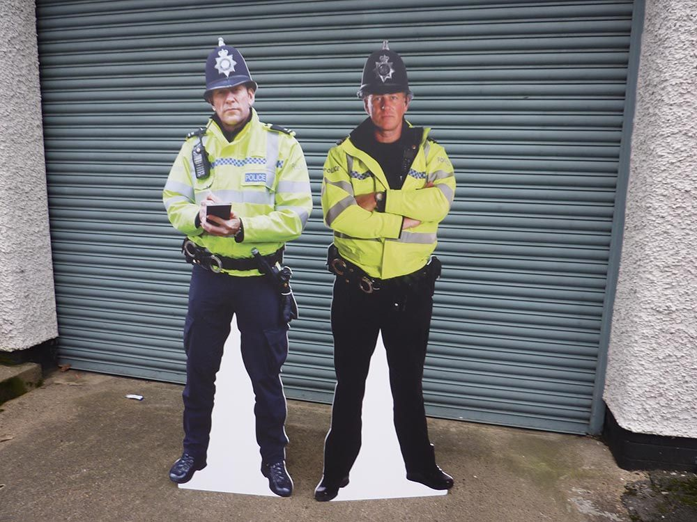 Pin on Crime Reduction Signs
