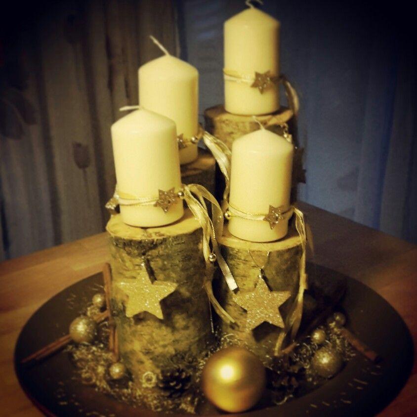 Adventskranz Kerzen Advent Weihnachtszeit Weihnachtsdeko