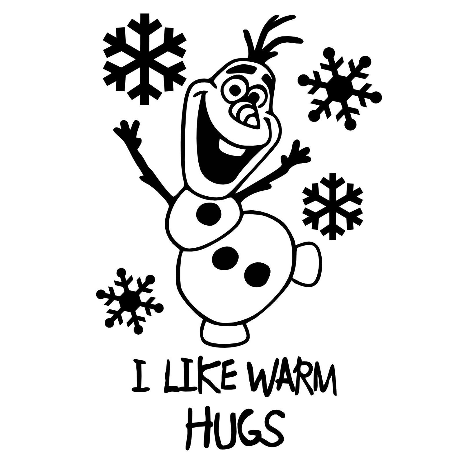 Olaf Frozen Auto Window Decal Car Sticker Laptop Truck