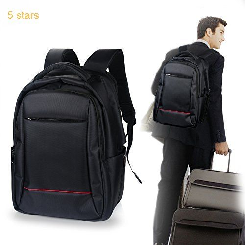 30604462684b Laptop Backpack TURATA Business Daypack Rainproof Lightweight Backpack Up  to 15.6-inch Black