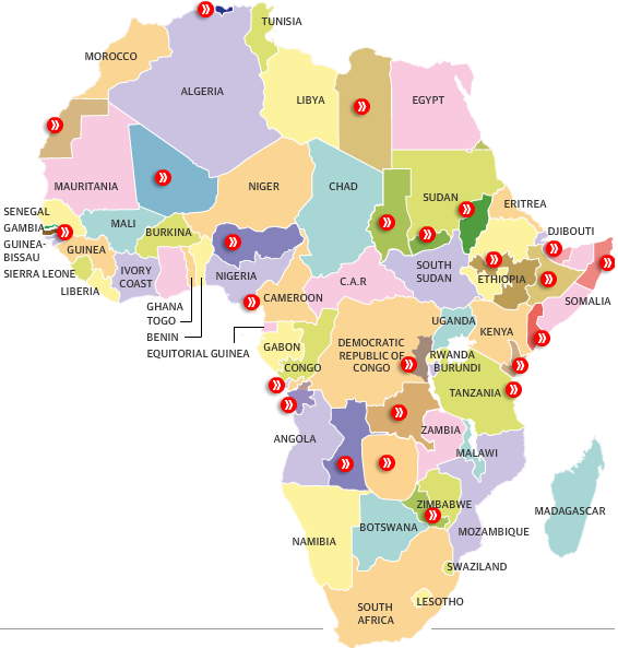 The Dividing Of A Continent Africa's Separatist Problem Africa
