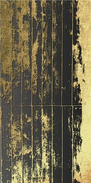 Photo of Canvas Painting Classic Luxury Gold Black Home Decor Poster Wall Art Living Room Picture Retro Minimalist Abstract Wall Print – 25x50cm no frame / A