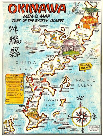 Japan Memo Map Okinawa In 2019 Okinawa Japan Okinawa