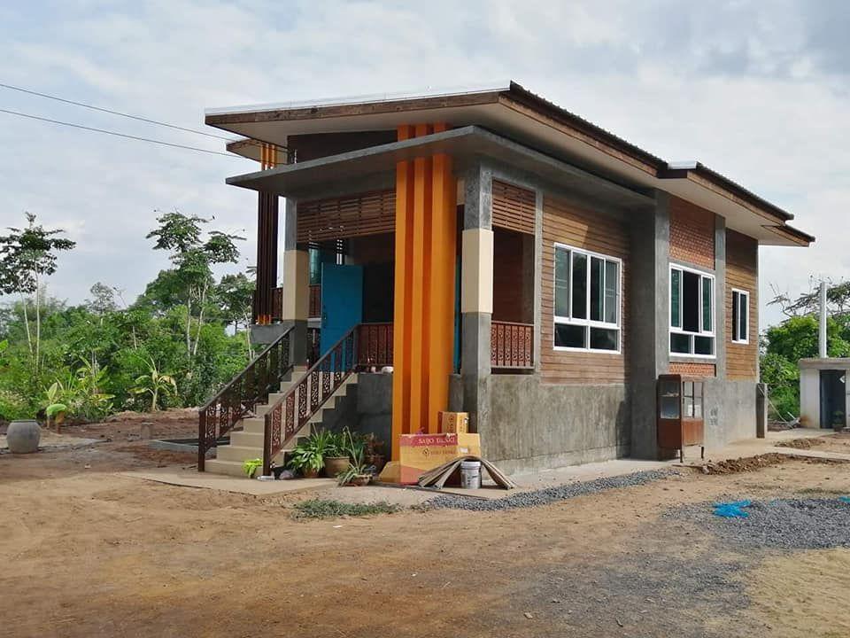 บ านช นเด ยวยกพ นส งสไตล โมเด ร นลอฟท ตกแต งงานไม ส ดคลาสส ค Thai Let S Go ในป 2021 ร ปแบบบ าน ออกแบบบ าน การออกแบบบ านหล งเล ก