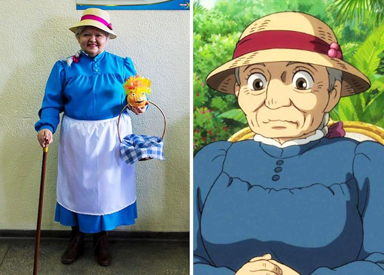 Older women cosplays as older woman from animation 4/8 | Fantasy art ...