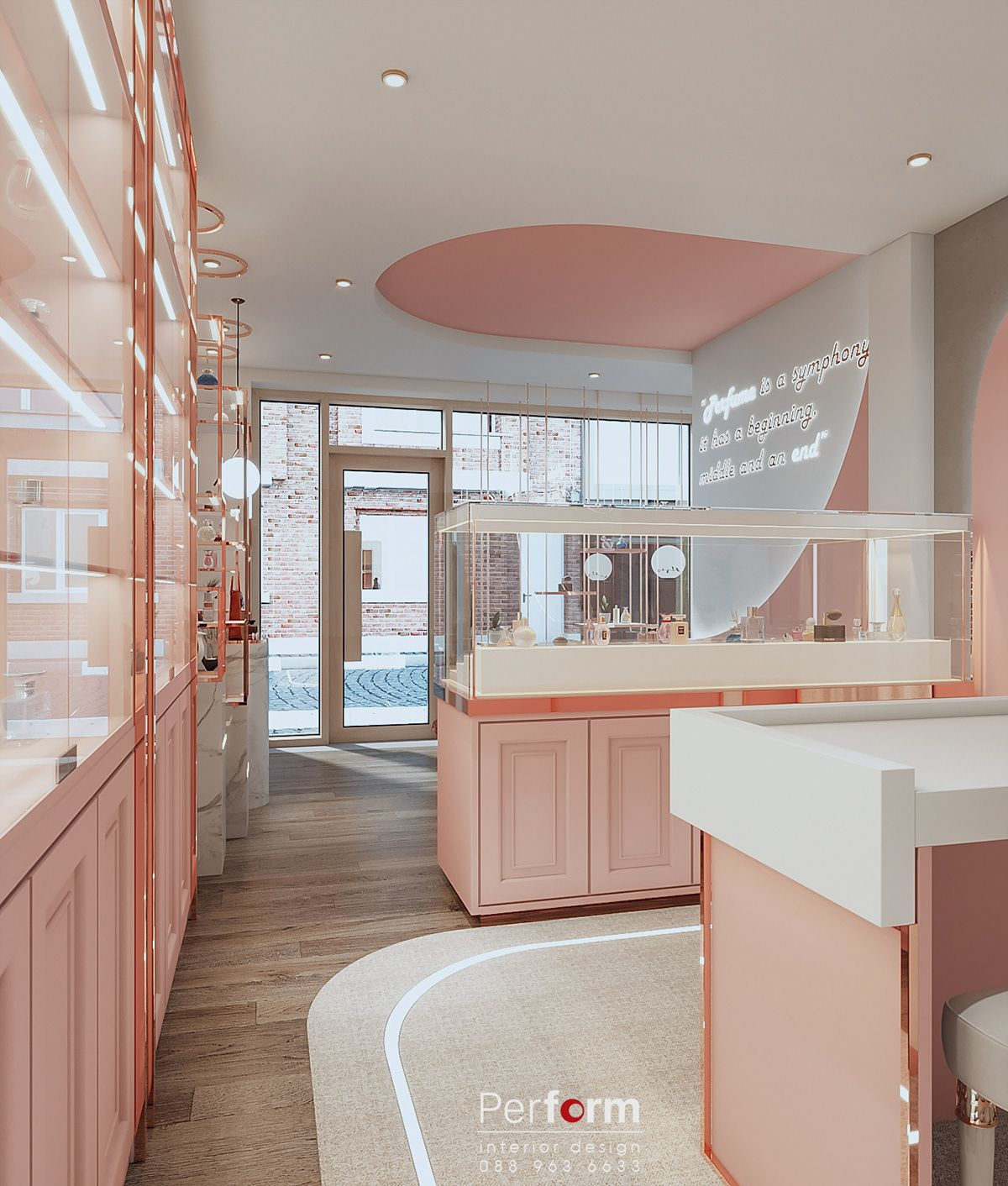 Perfume Shop Luxury On Behance Store Design Interior Interior