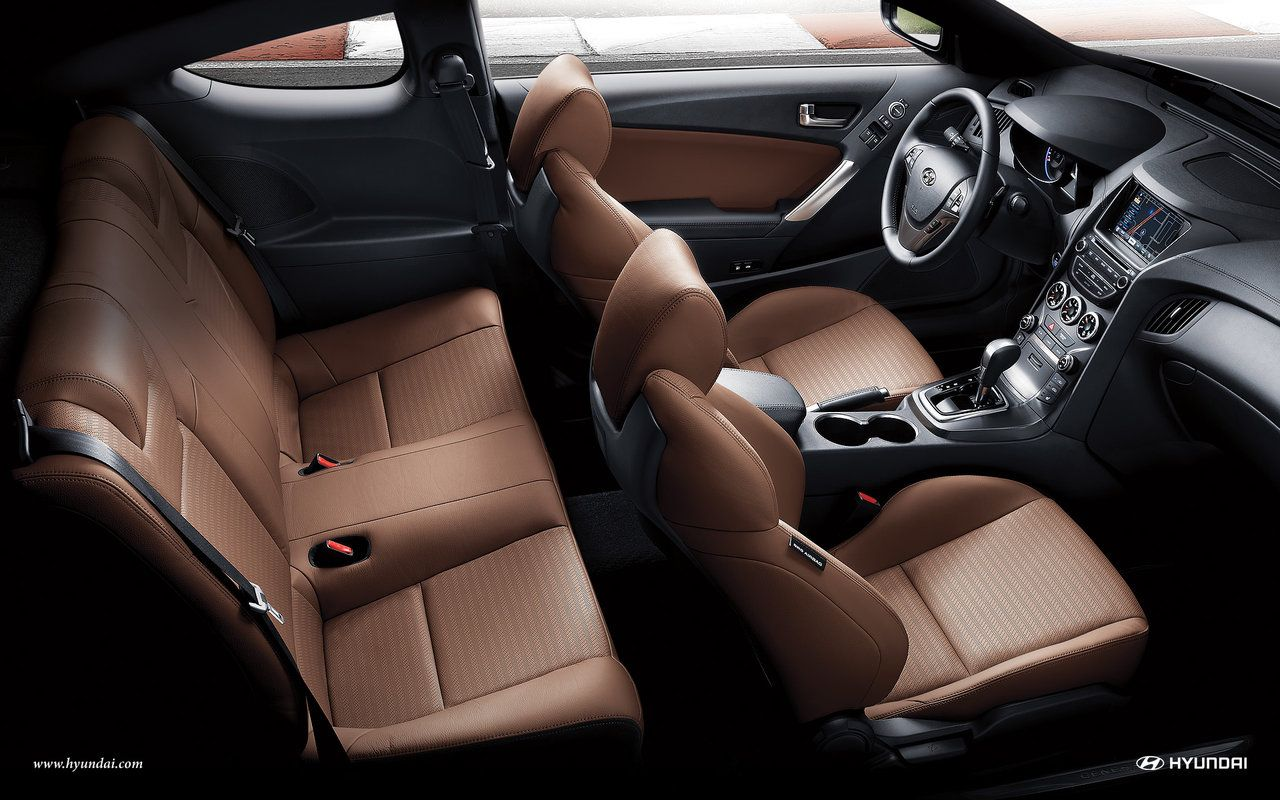 Great 2015 Hyundai Genesis Coupe Interior Wallpaper