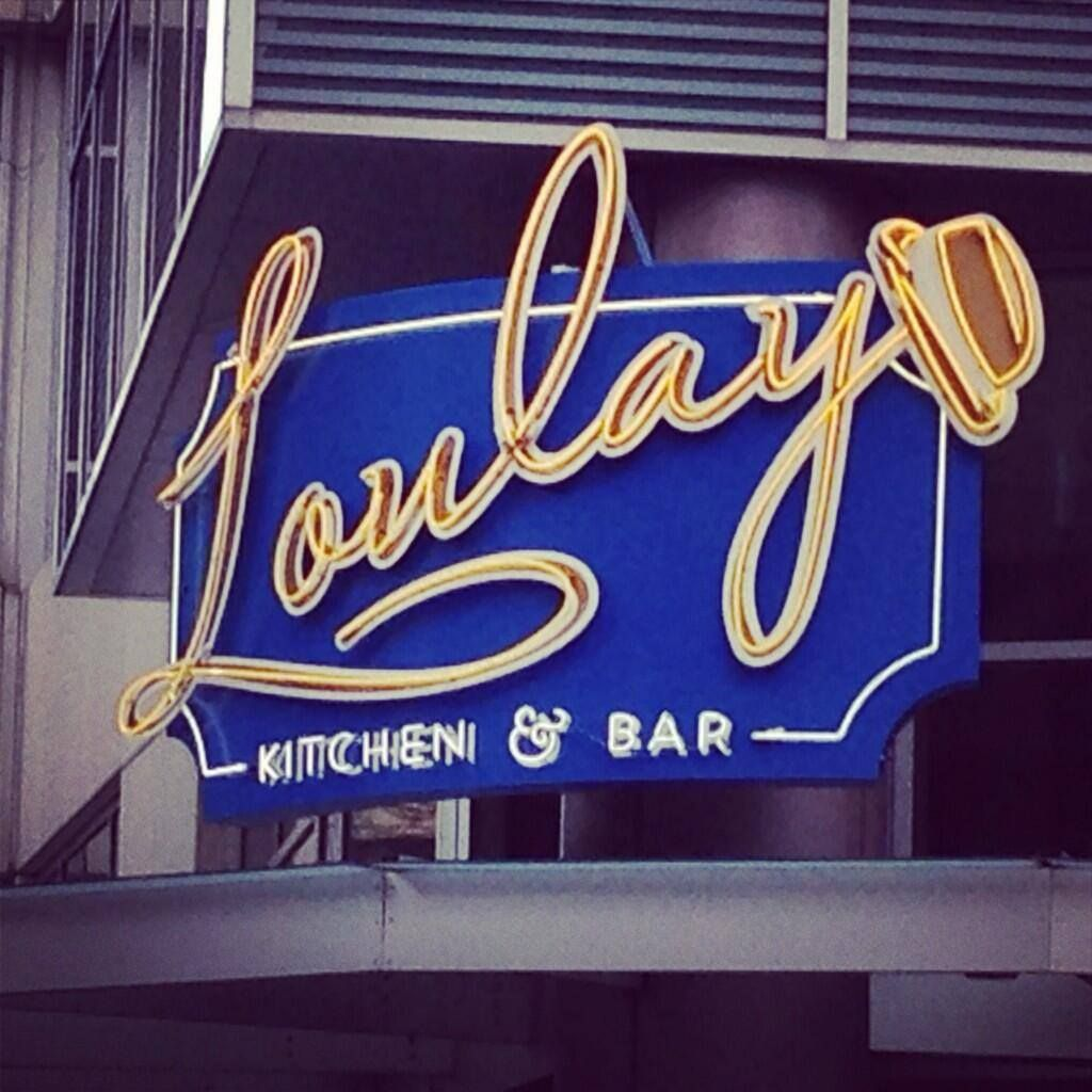Loulay Kitchen Bar 600 Union St Seattle Wa 98101 Kitchen Bar Neon Signs Liqueur Drinks