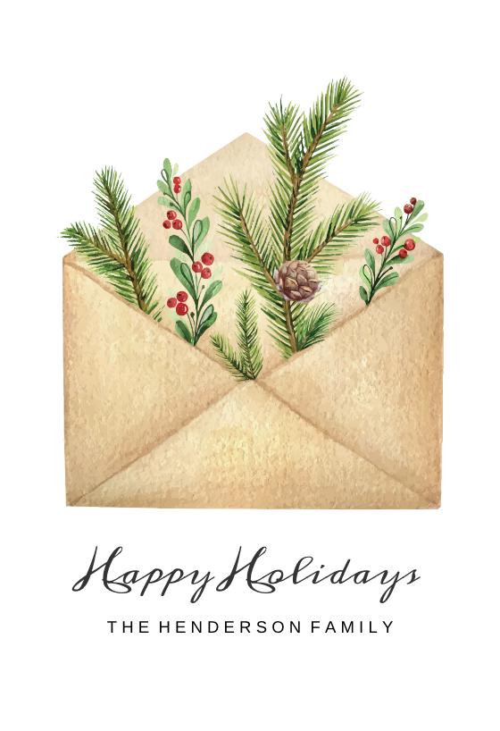 Envelope Cheer Christmas Card Free Greetings Island Christmas Cards Free Custom Christmas Cards Christmas Card Template