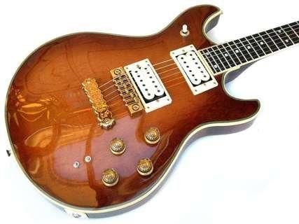 cimar artist 1980 sunburst vintage guitar vintage cimar artist 1980 sunburst vintage guitar