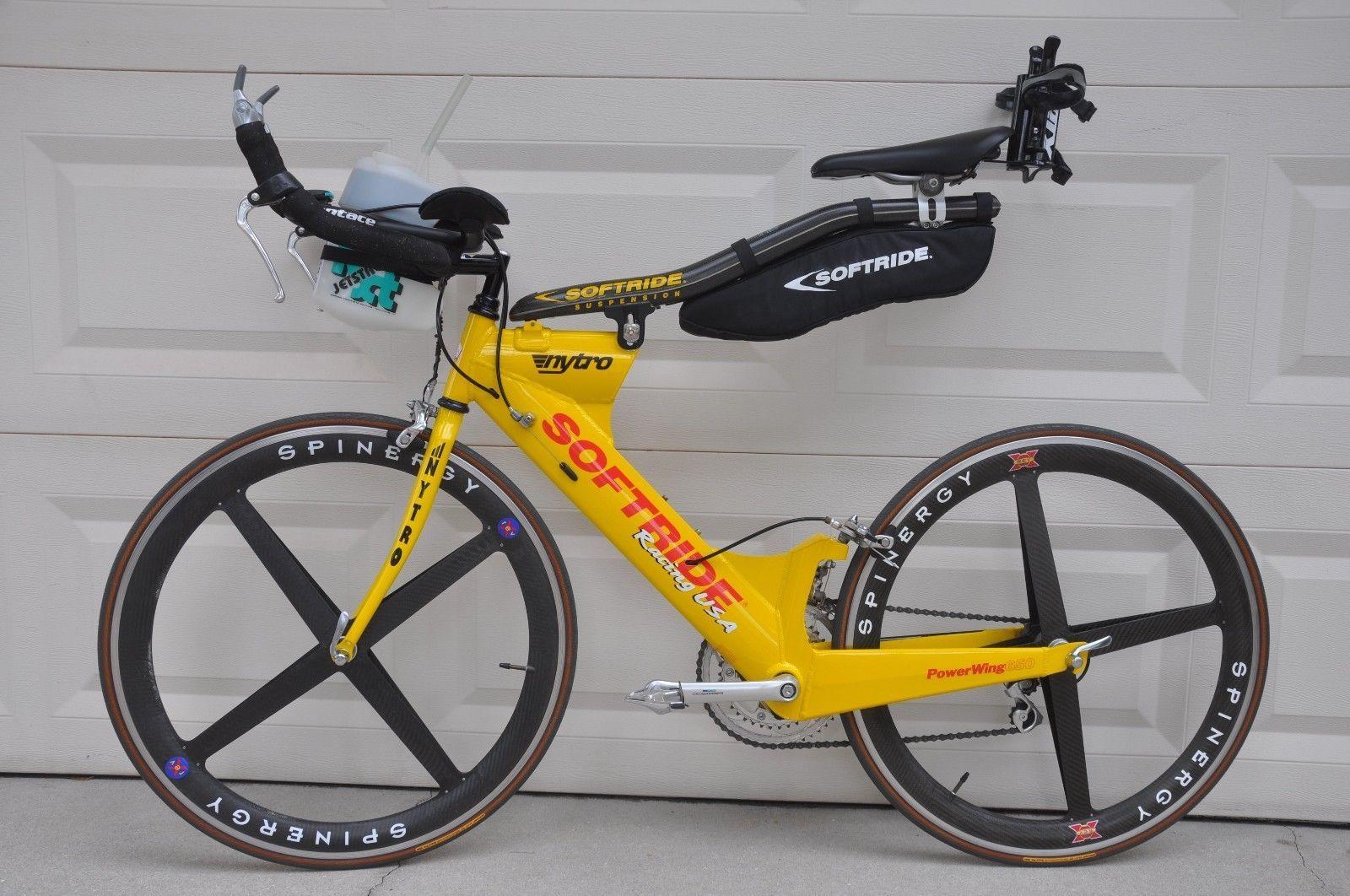 SOFTRIDE PowerWing 650 Triathlon Bike with Spinergy Rev-X Wheels ...