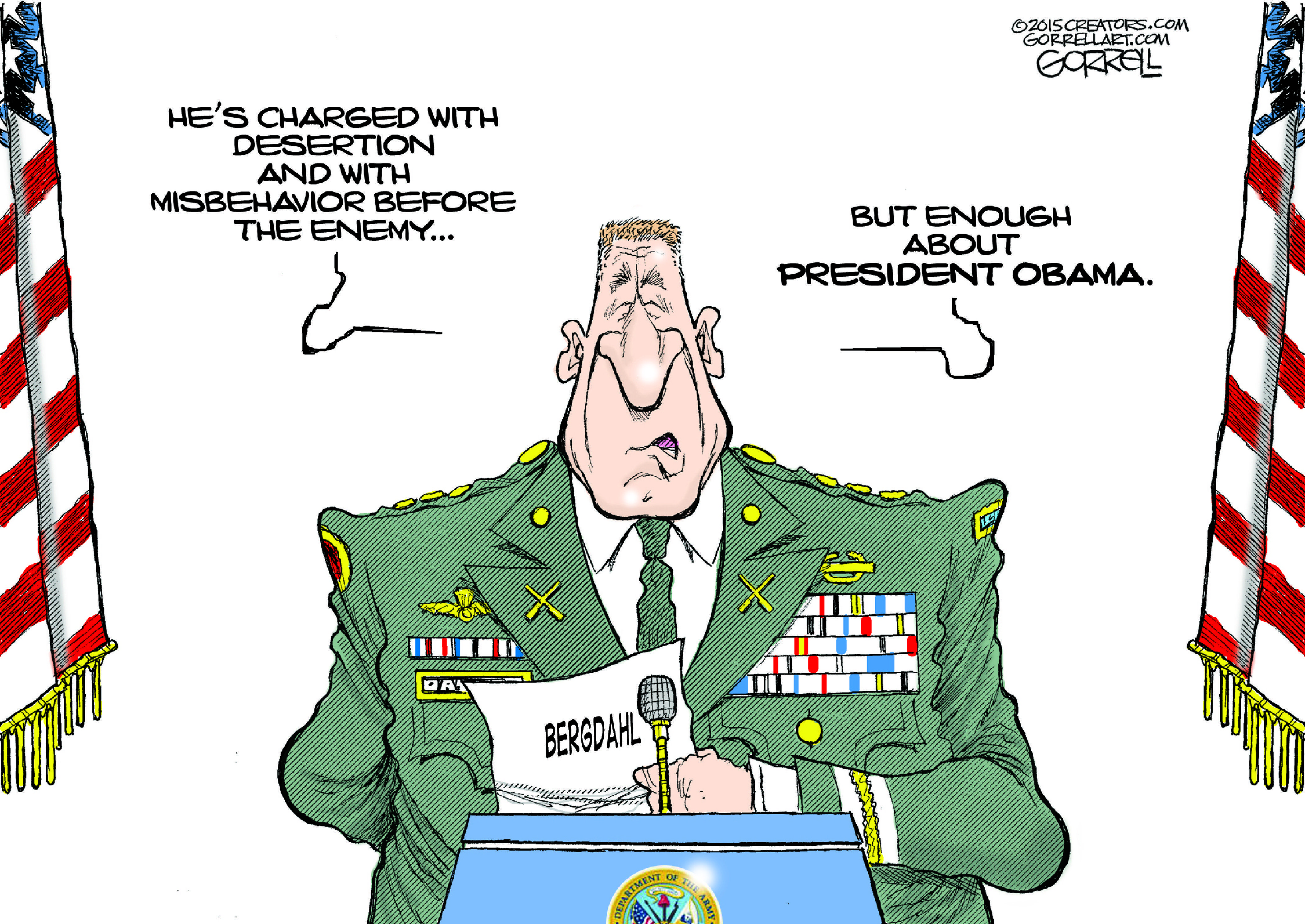 Are We Talking About Bergdahl Or Obama?