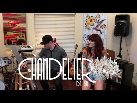 Sia - Chandelier Cover - By Shoshana Bean & Blake Lewis - YouTube ...