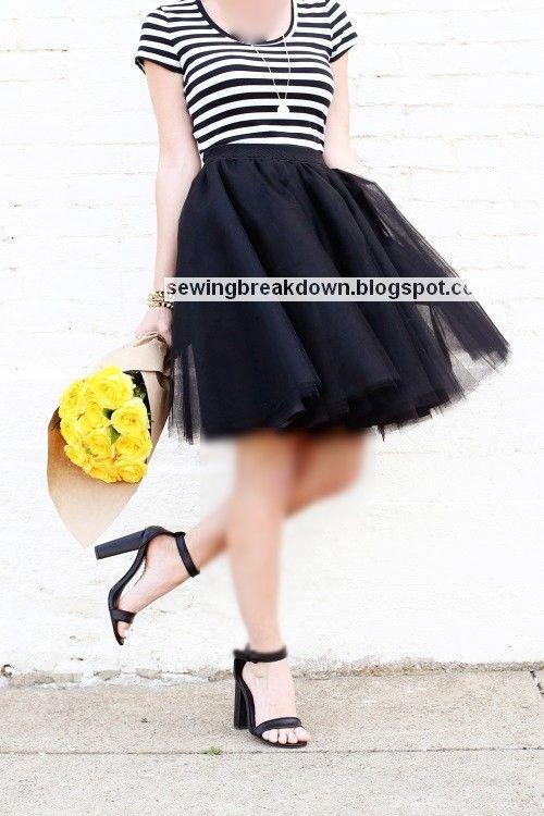 خياطة وتفصيل Tulle Skirt Lace Skirt Couture