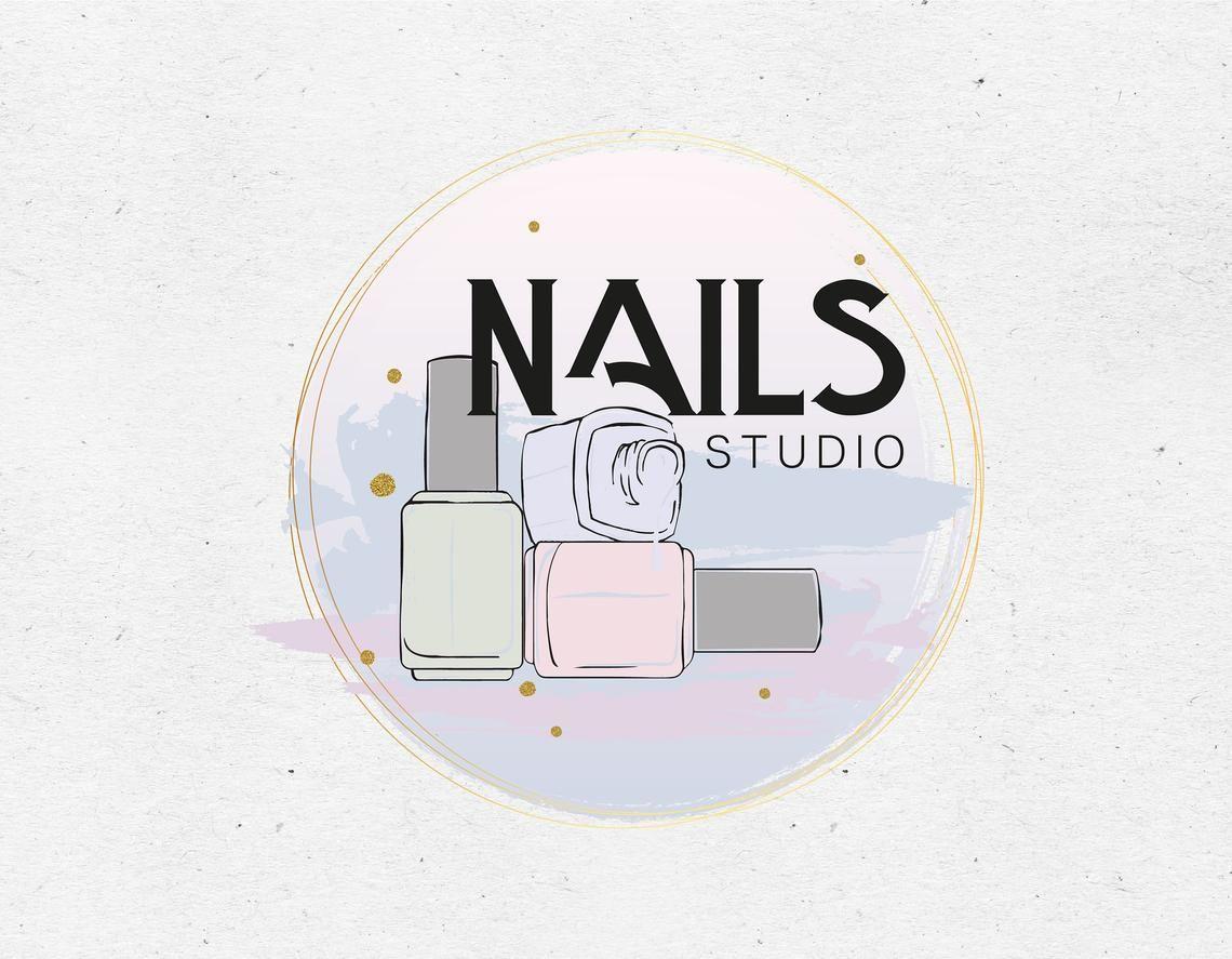 Nail Salon Logo Nail Studio Logo Nail Artist Logo Nail