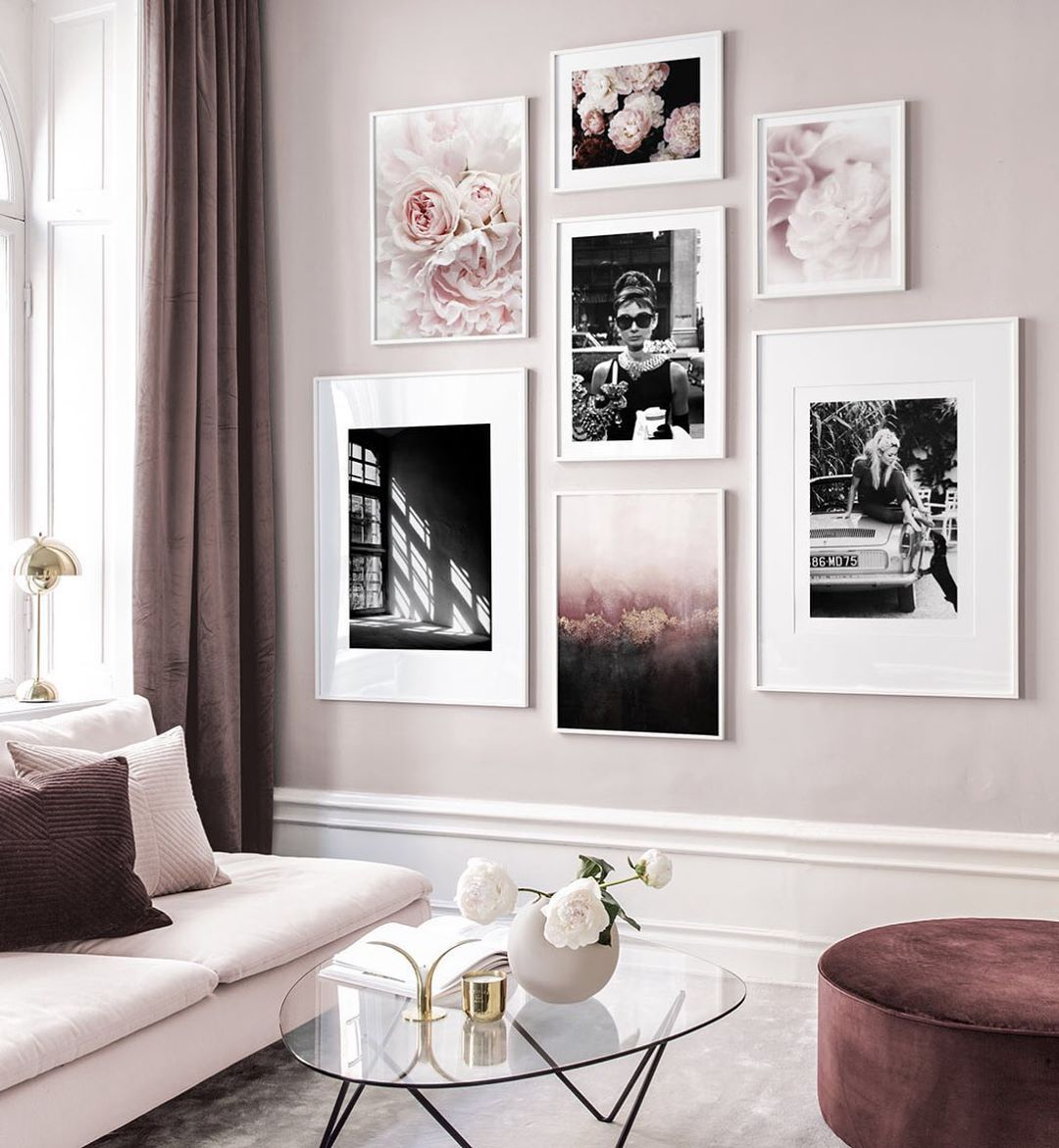 Home Is Where The Art Is From Lef Interior Design Bedroom Gallery Wall Inspiration Gallery Wall Living Room