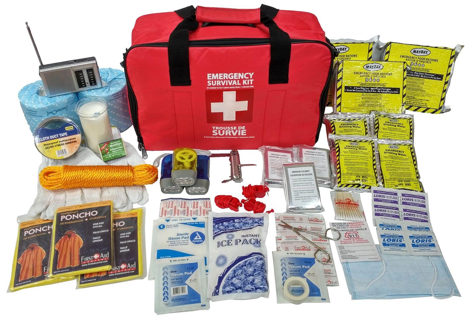 3 person 72 hour emergency survival kit emergency