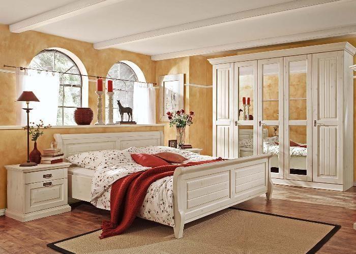 Schönes Landhausschlafzimmer Schlafzimmer Malta 2