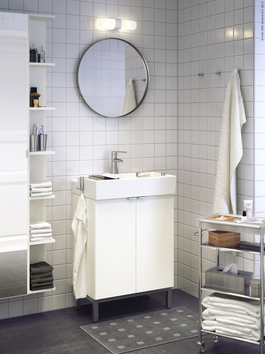 LILLÅNGEN badrumsserie passar perfekt i smÃ¥ badrum. | Badrum ... : små badrum : Badrum