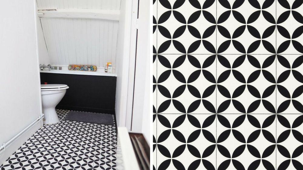 Quel lino ou sol vinyle choisir pour sa salle de bains ? House