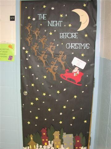 All I Want For Christmas Is My Christmas Classroom Door
