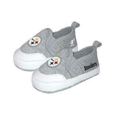 Pittsburgh Steelers Pre Walk Baby Toddler Shoes