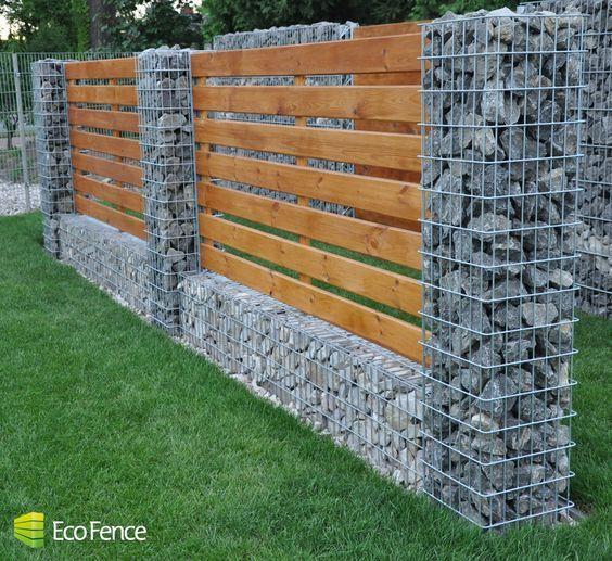 Tipos de bardas para casas texturas de bardas tendencias for Barda de madera para jardin