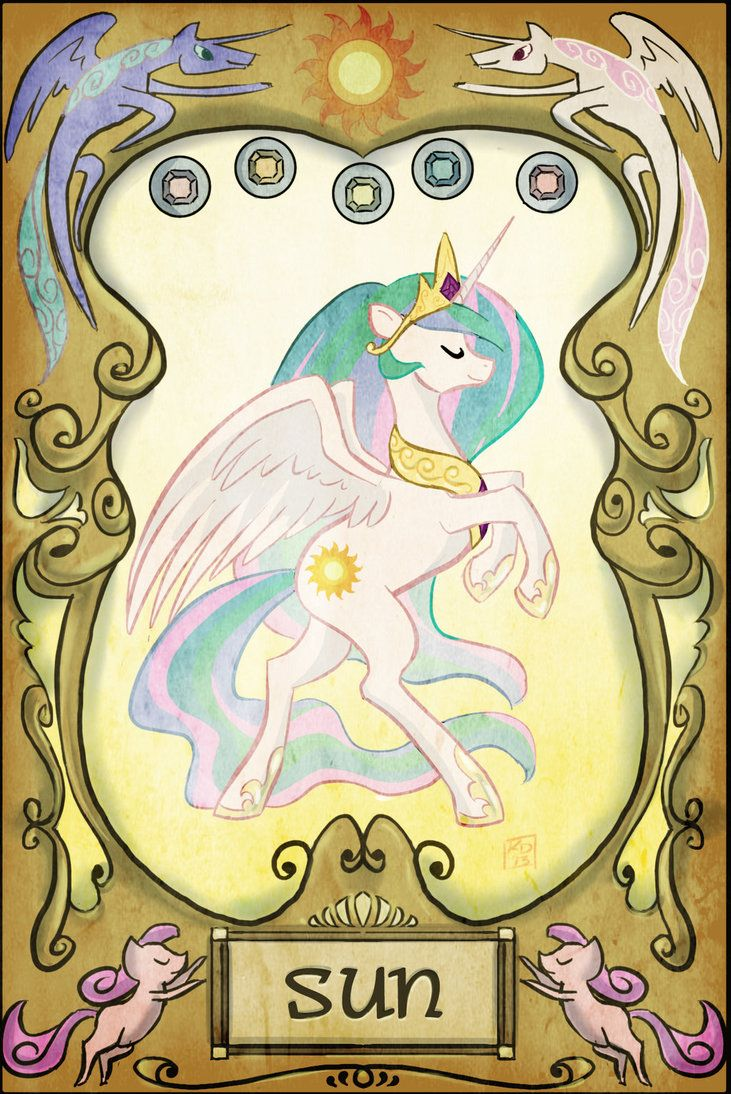 May You Find All You Have Lost the 1st of the 22 tarot cards that going to in the MLP fan game we are making over on the group page here ...