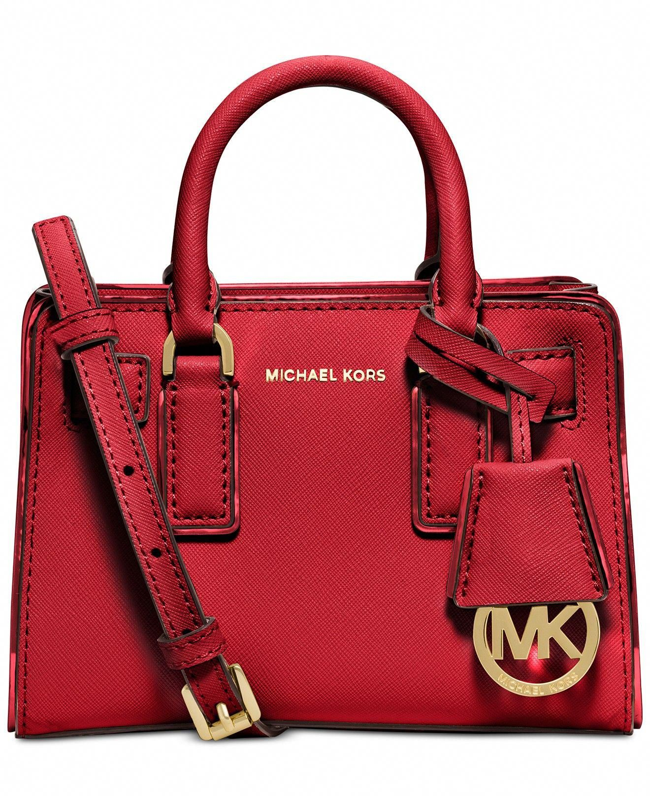 ba6103beade40c handbags michael kors red #Handbagsmichaelkors | Handbags michael ...