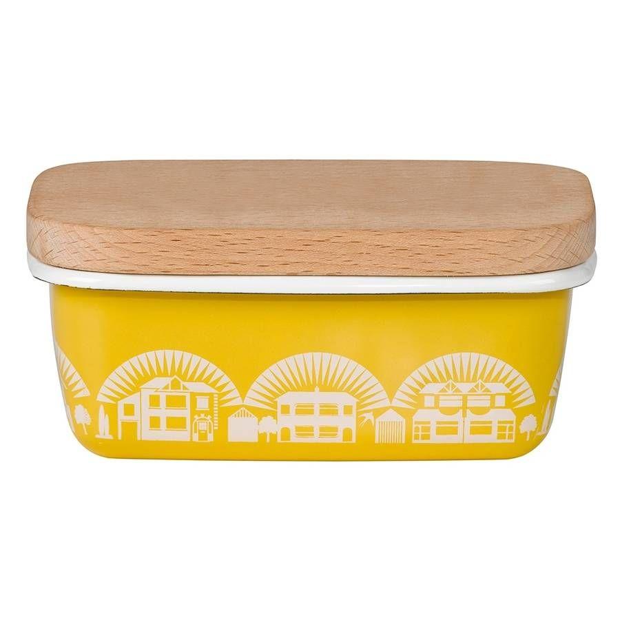mini moderns enamelware butter dish  butter dish modern and house - mini moderns enamelware butter dish