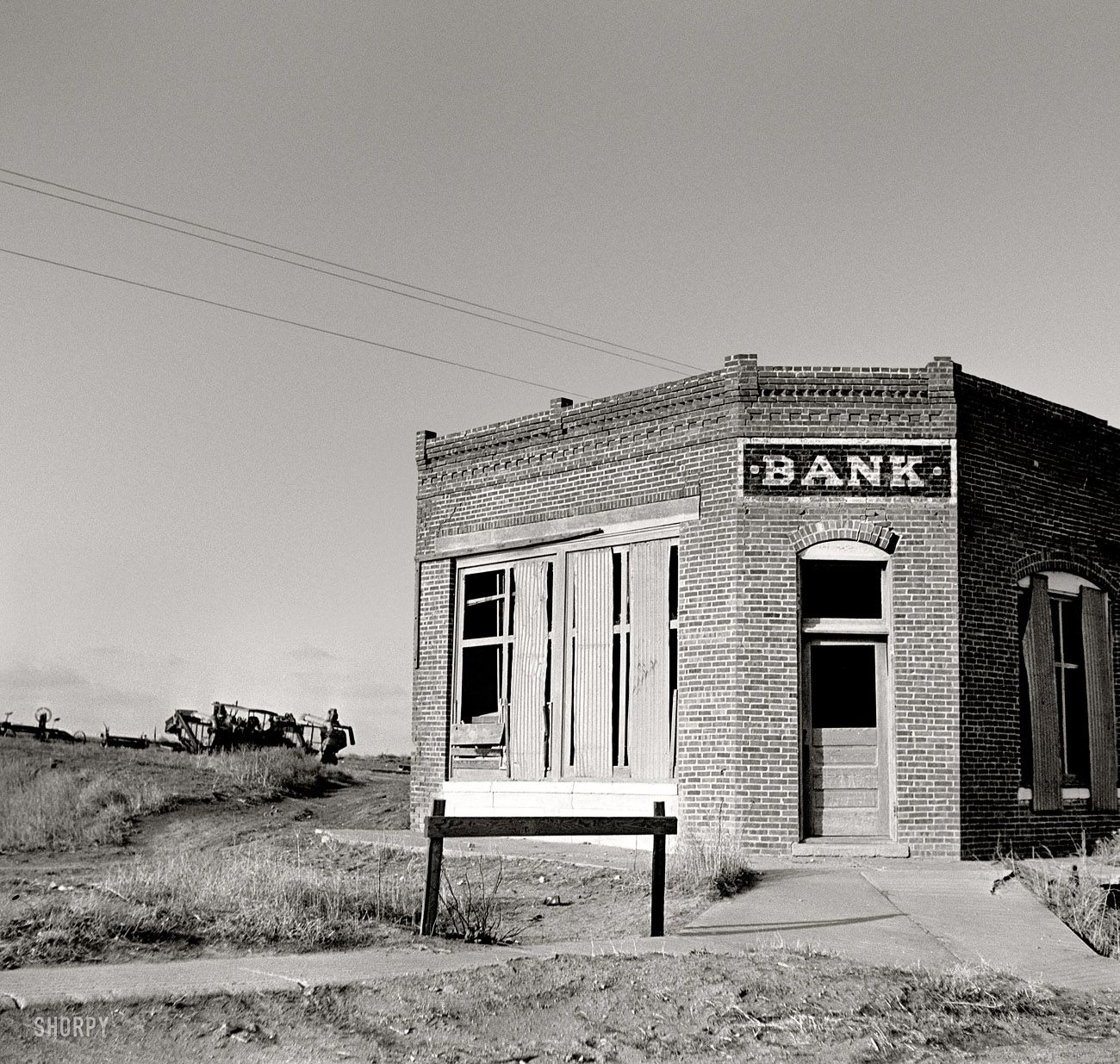 "Stress Test Interest Rate: Stress Test: May 1936. ""Bank That Failed. Kansas."" Medium"