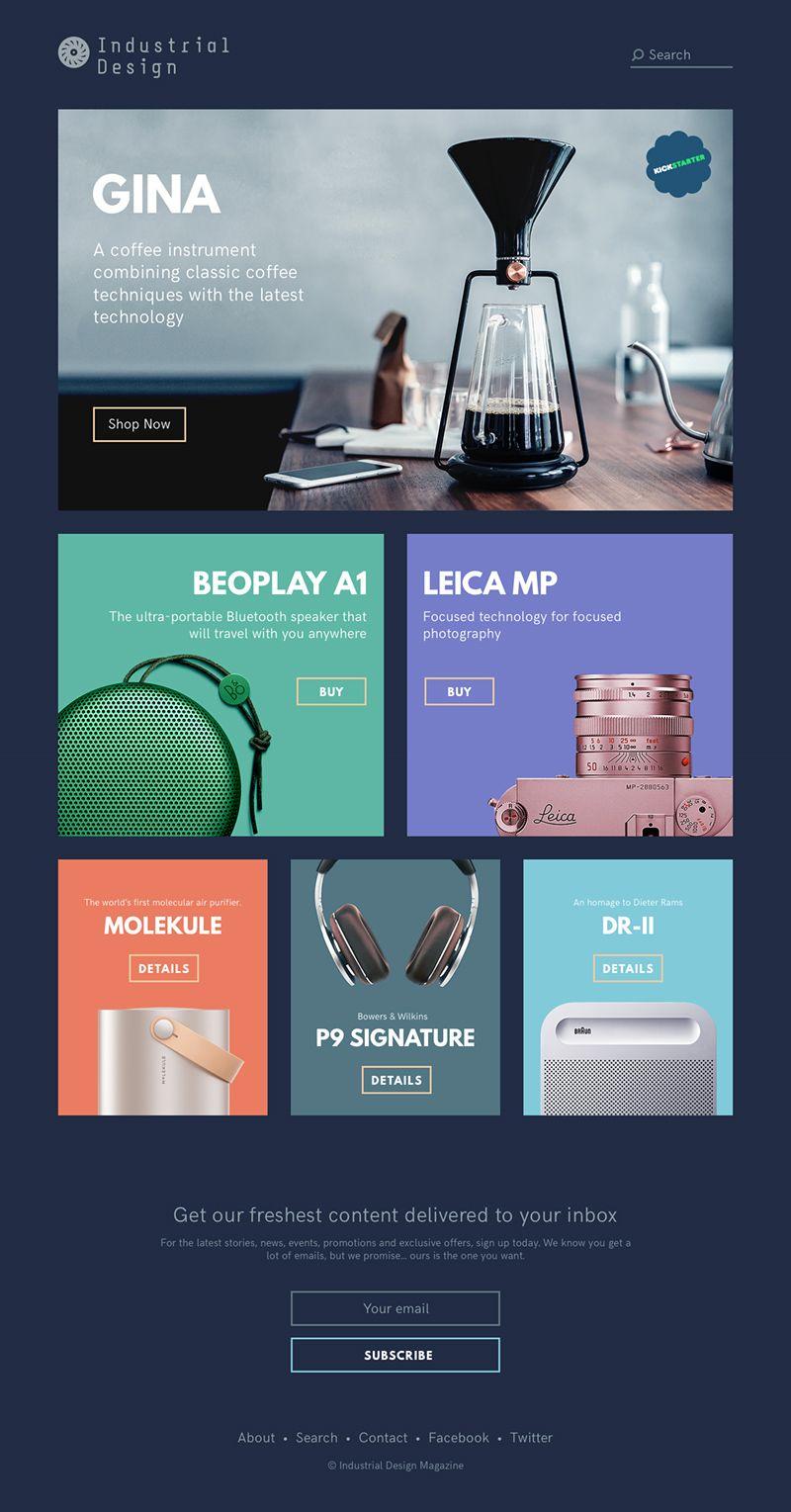 Industrial Design Magazine Template Free Psd Magazine Design