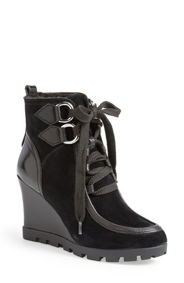 GUESS 'Lanni' Wedge Bootie (Women) available at #Nordstrom
