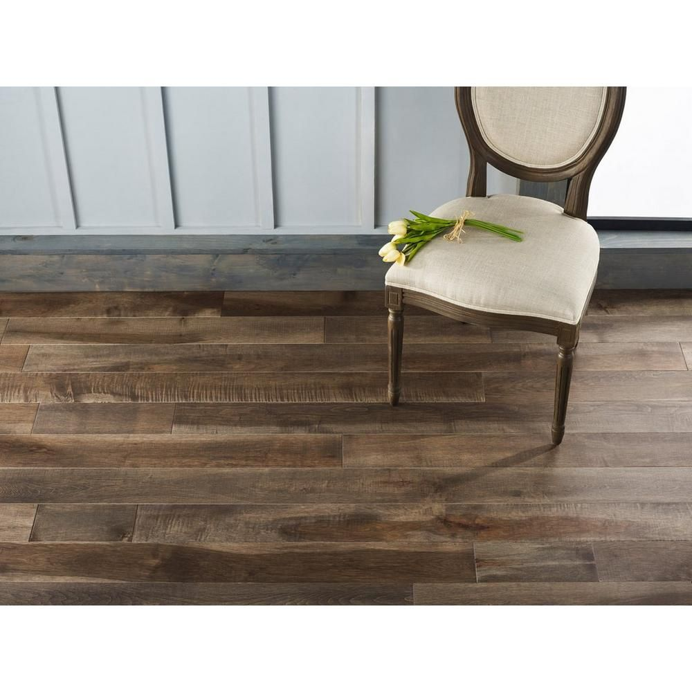 Camden Maple Distressed Solid Hardwood Floor Decor In 2020 Solid Hardwood Floors Distressed Hardwood Floor Decor