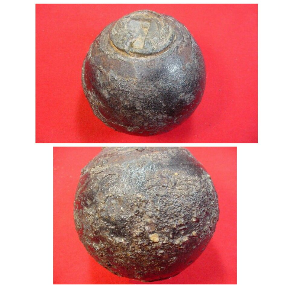 A Very Nice Condition Confederate Bormann Fuzed 6 Lb Size Cannon Ball Found About 40 Years Ago By A Fisherm Civil War History American Civil War Civil War Era