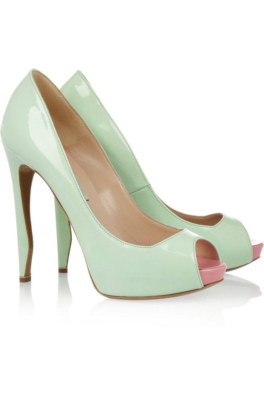 22801956255 Nicholas Kirkwood Patent-leather pumps - 59% Off Now at THE OUTNET ...
