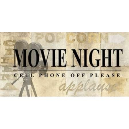 Movie Night Canvas Art - Z Studio (24 x 48)