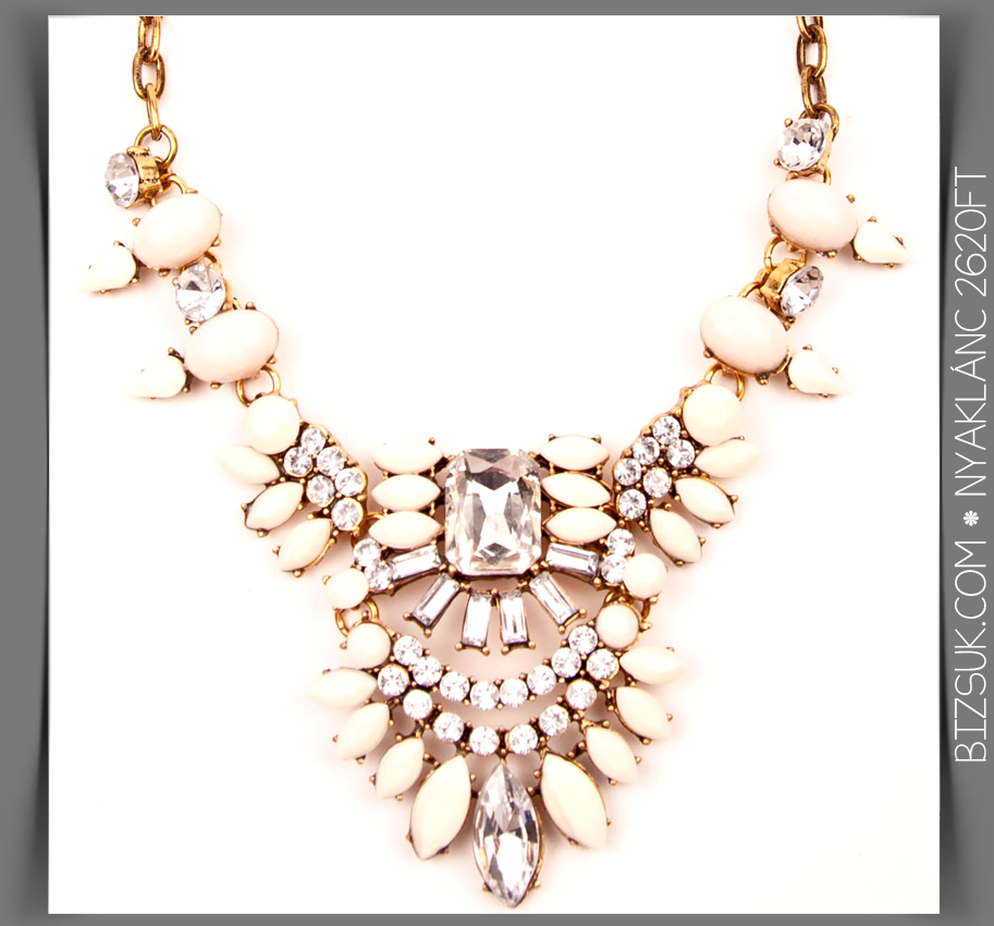 #white #crystal #necklace #bizsukcom
