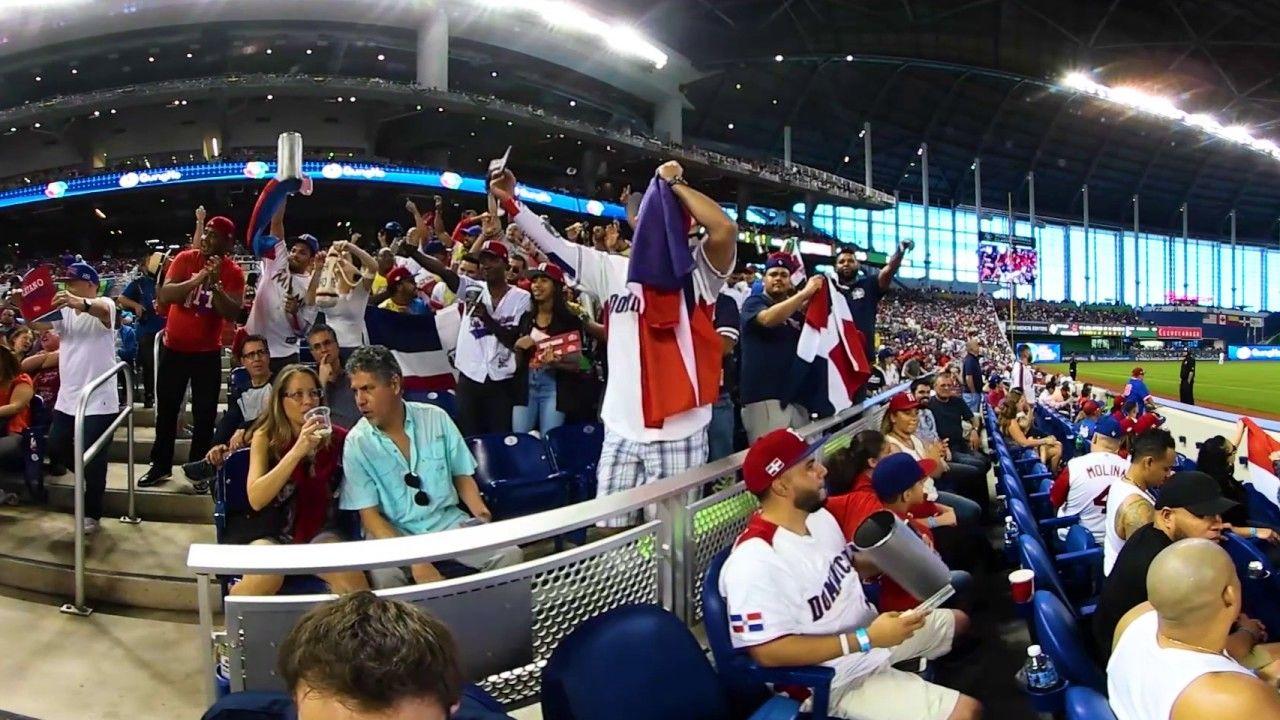 Vr 360 Dominican Fans Cheer On Team World Baseball Classic Cheer Teams