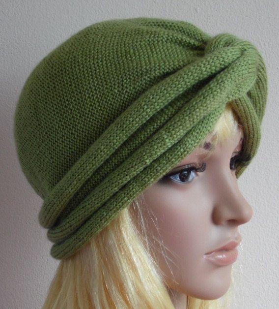 c4f70a363daf9 Knit turban hat for women