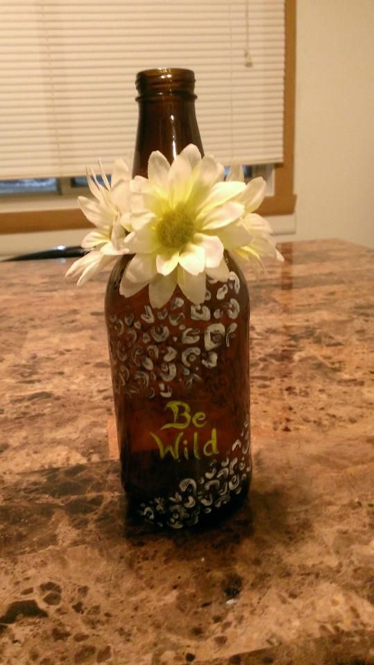 Made this cute little bottle. It\'s a redneck bottle! All you need is ...