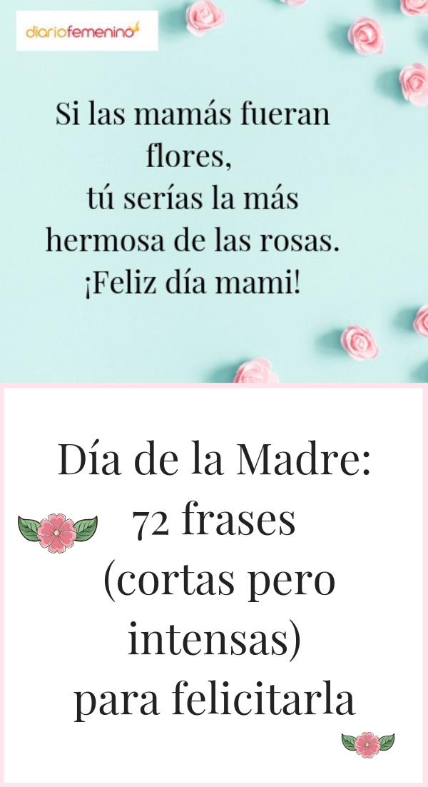 Dia De La Madre 72 Frases Cortas Pero Intensas Para Felicitarla