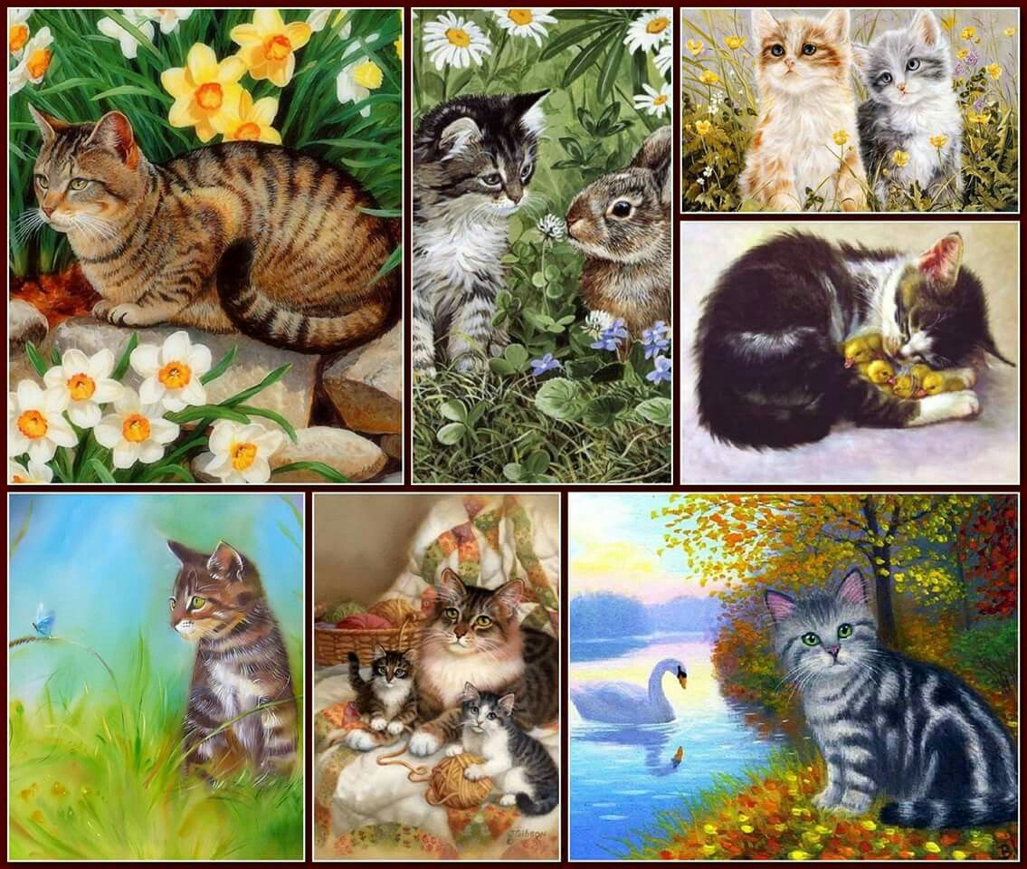 Pin By Flutt On Moodboard Animals Painting Cute Pictures Collage