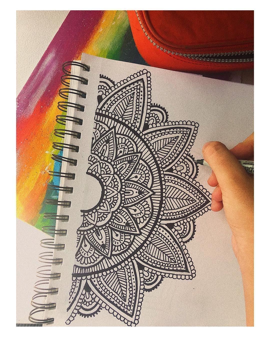 Mandalas Dani Hoyos Untitled Fur Mandalas Sind Sie Hier Richtig Mandala Kunstunterricht Mandalas Zeichnen Zeichnung Tutorial