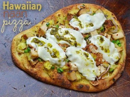 Hawaiian Naan Pizza Recipe