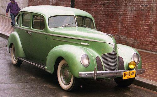1939 Hudson 4 Door With Images Hudson Car
