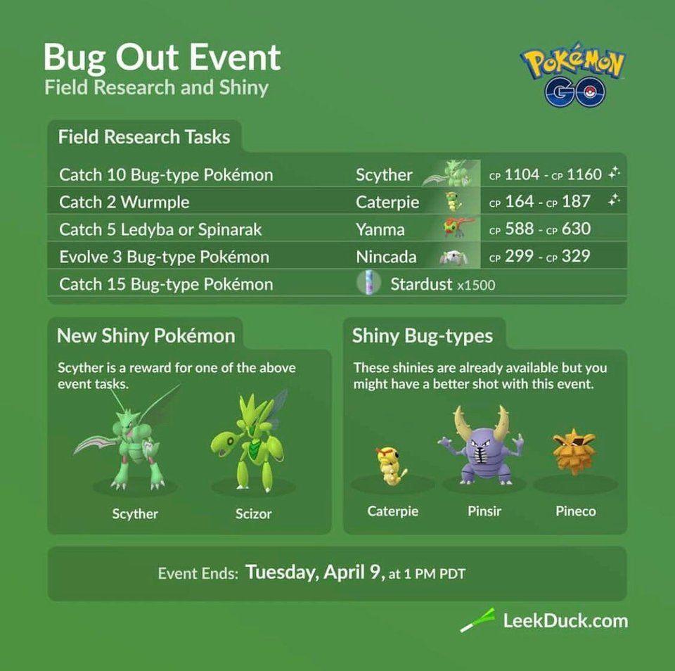 New Field Research Quests Thesilphroad Pokemon Go Type Pokemon Pokemon