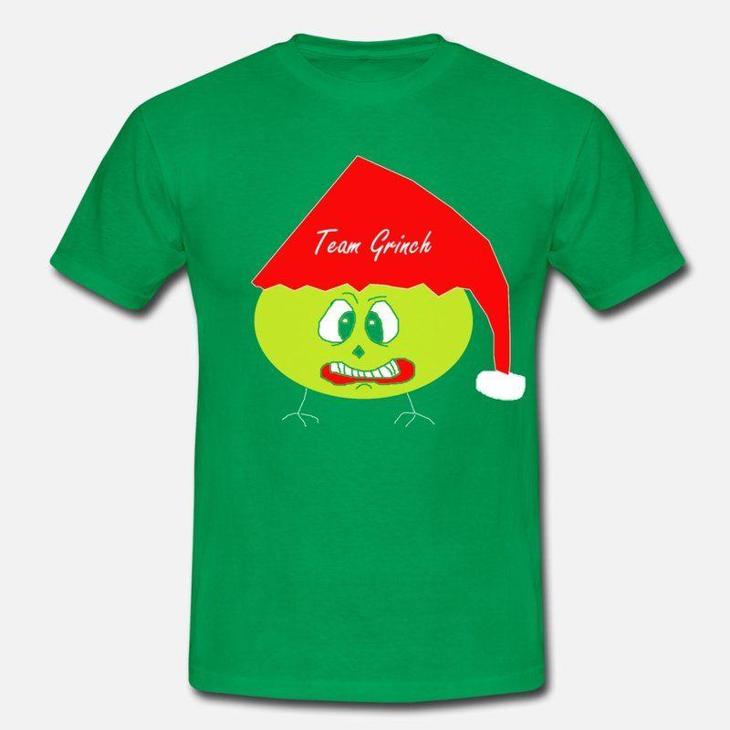 Frohe Weihnachten Männer Bilder.Team Grinch Weihnachtsmuffel Scheiss Weihnachten Männer T Shirt