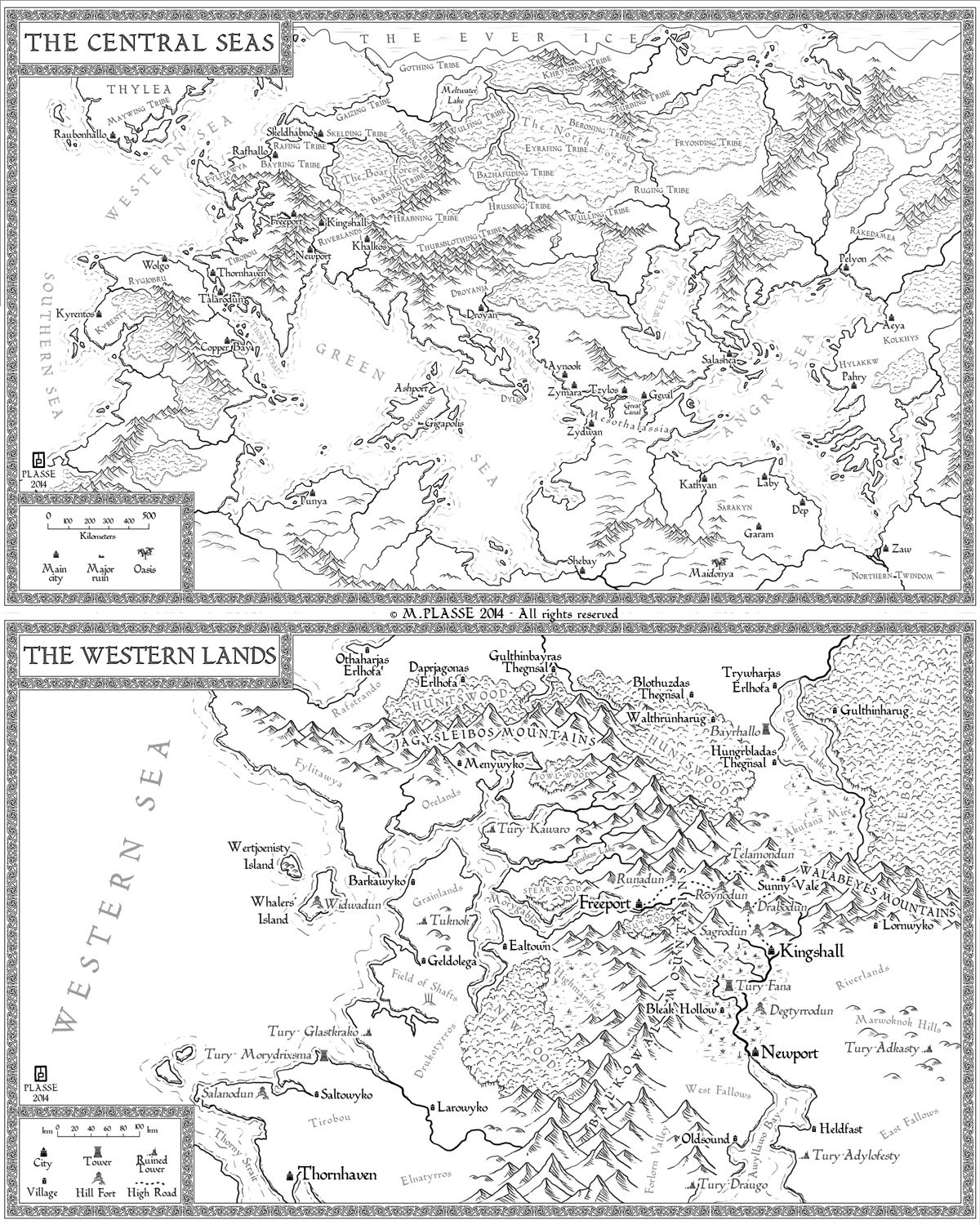 Central Seas by MaximePLASSE on DeviantArt   Maps in 2019   Map