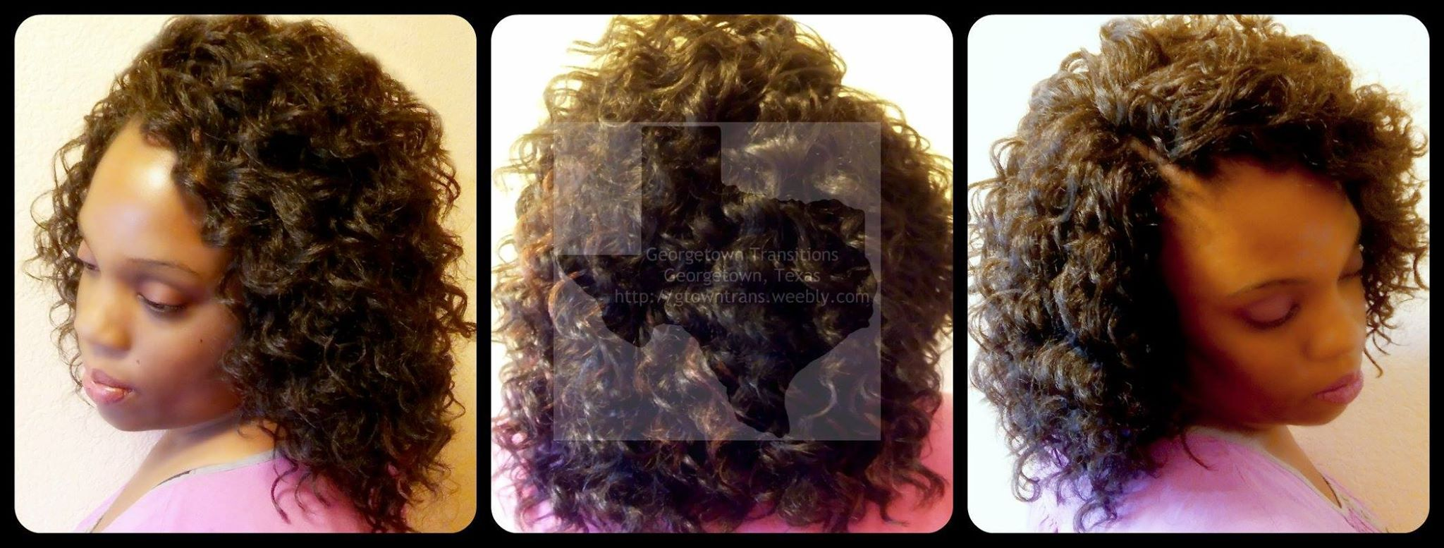 Crochet Hair Weave Installment by Stylist RayRay of Georgetown Transitions.